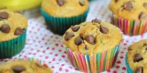 Whole Wheat Zucchini Banana Muffins | FiveHeartHome.com for UncommonDesignsOnline.com