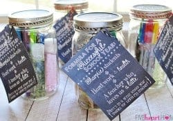 Back-to-School Teacher Survival Kit Mason Jar Gift ~ Free Printables!