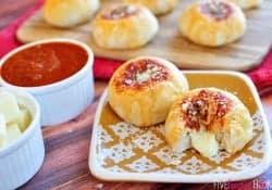Mozzarella Bubble Biscuits