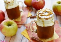 Caramel Apple Cider ~ Starbucks Copycat