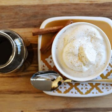 Homemade Cinnamon Syrup {for Coffee, Cider, Pancakes, Ice Cream & More!}