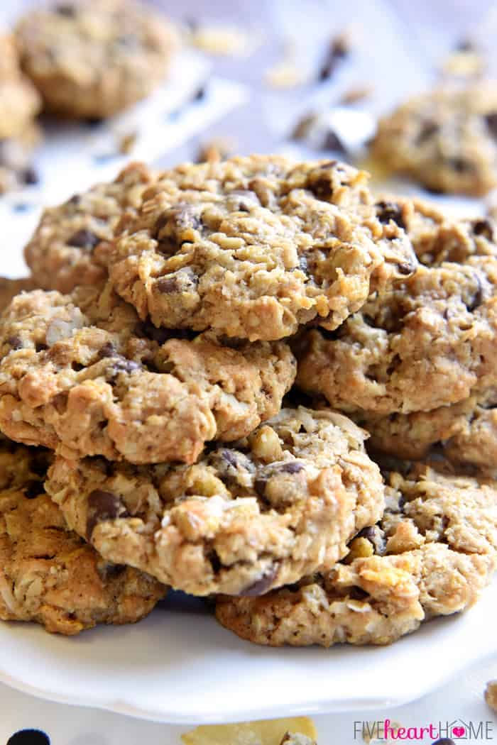 Cowboy Cookies are soft, chewy, and loaded with a variety of flavors ...