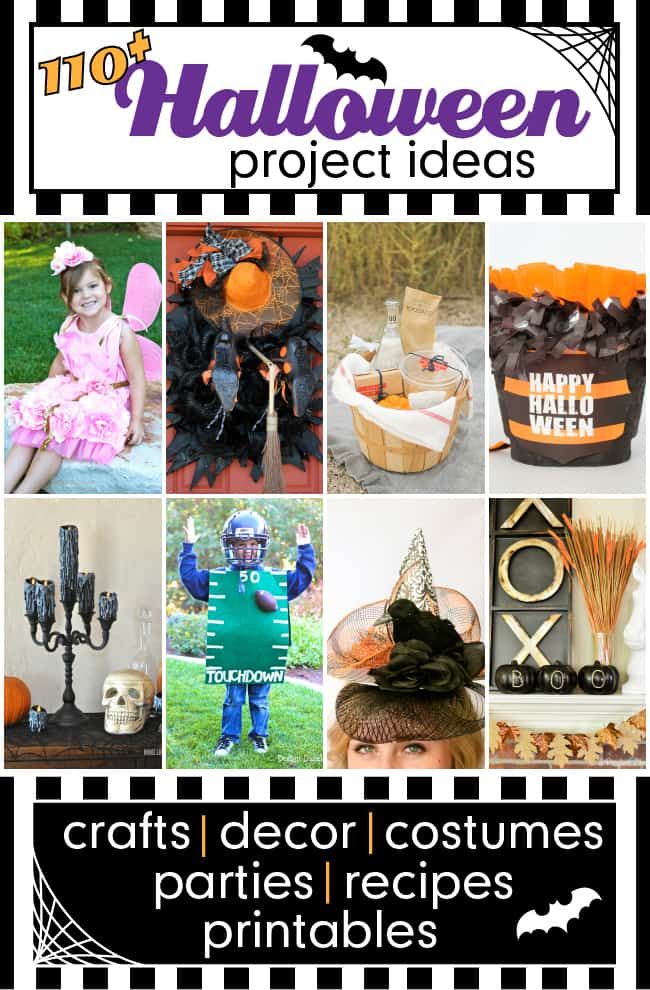 Halloween Blog Hop featuring 110+ projects and recipes | FiveHeartHome.com