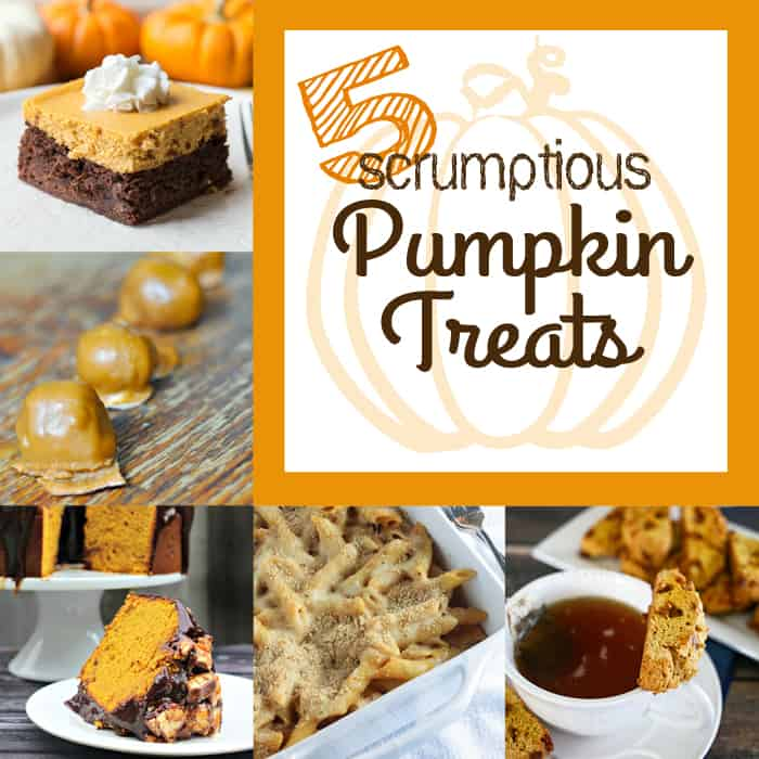 5 Scrumptious Pumpkin Recipes ~ Moonlight & Mason Jars Link Party