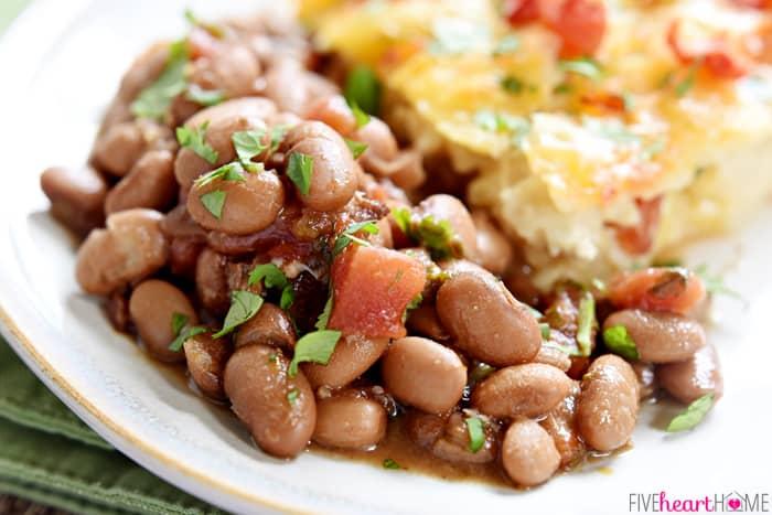 Crockpot Charro Beans Recipe