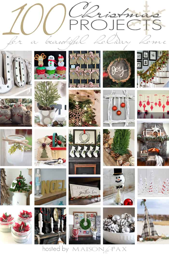 100 christmas projects for a beautiful holiday home for Christmas diy projects