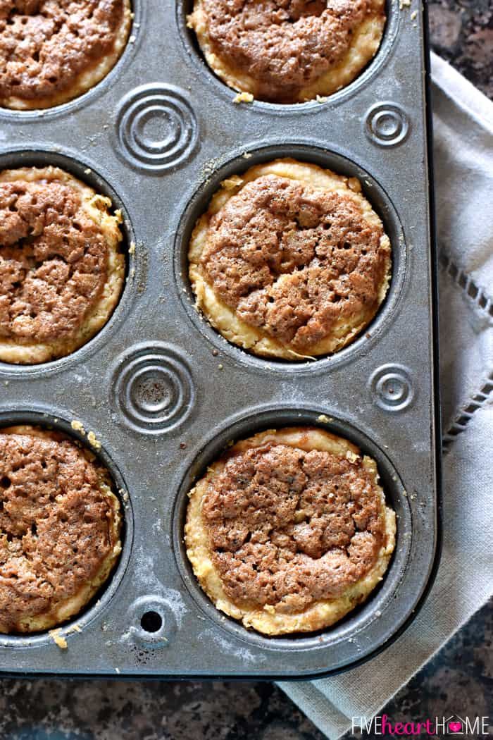 Aerial View in Muffin Tin