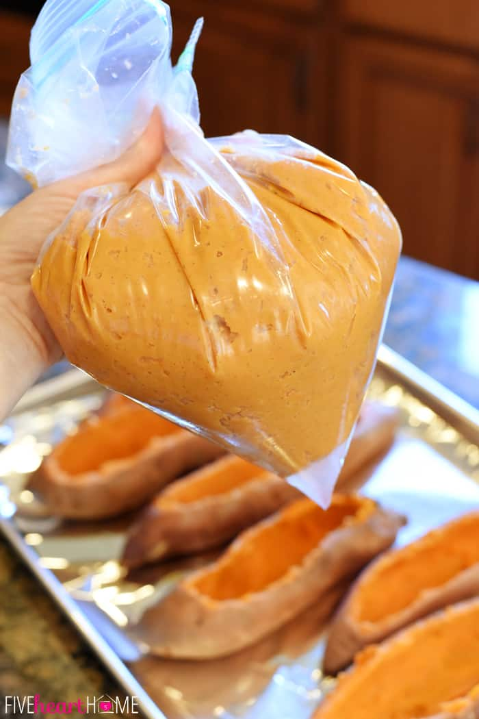 Twice-Baked Sweet Potatoes ~ the perfect Thanksgiving side dish ...