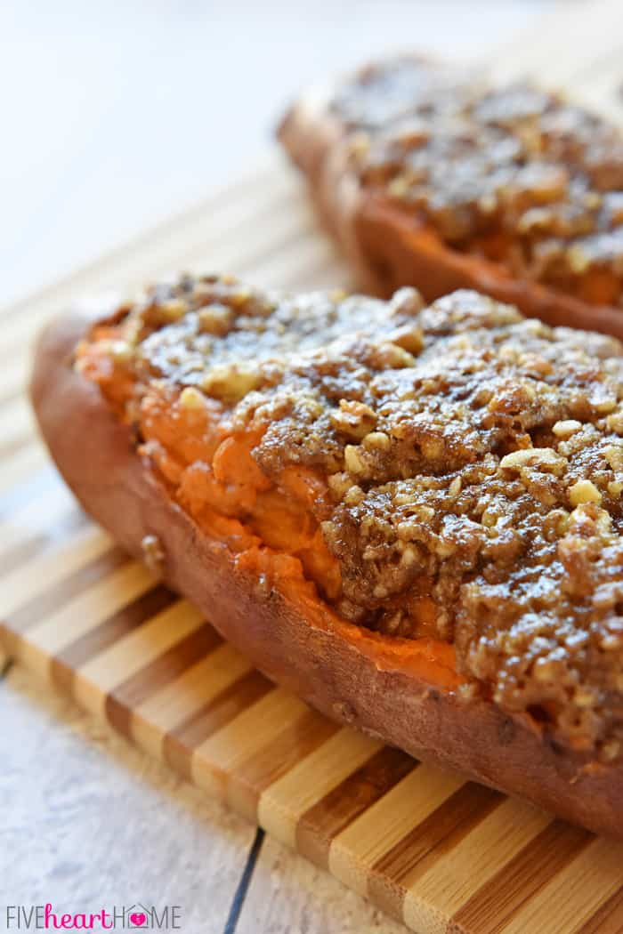 Twice-Baked-Sweet-Potatoes-Marshmallows-Pecan-Streusel-by-Five-Heart ...