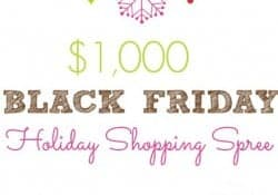$1000 Black Friday Shopping Spree GIVEAWAY!