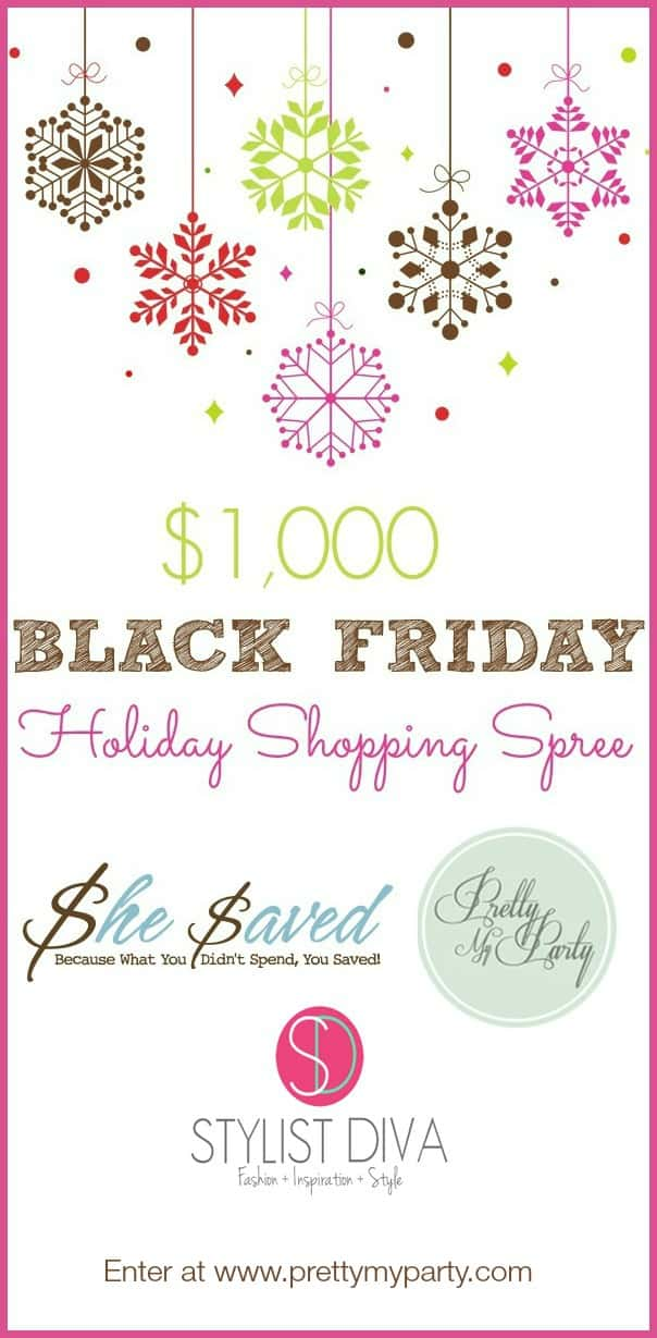 $1000 Black Friday Holiday Shopping Spree GIVEAWAY! | FiveHeartHome.com