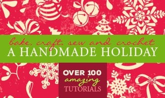 BAKE CRAFT SEW: A Handmade Holiday series with over 100 amazing tutorials! | FiveHeartHome.com