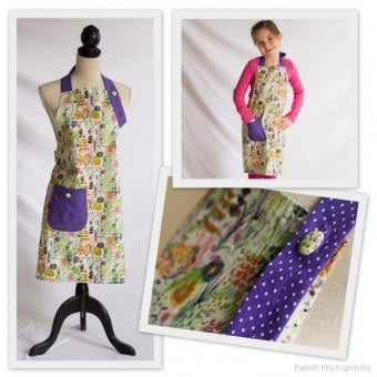 Scarlet Threads apron