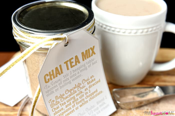Chai Tea Mix ~ a unique homemade food gift for those who love Chai Tea ...