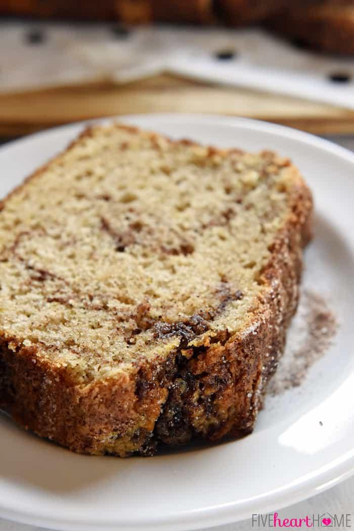 Cinnamon Bread No Yeast Quick Bread