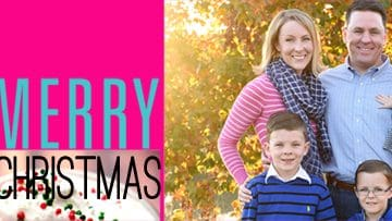 Merry Christmas from Five Heart Home!