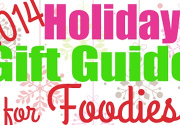 2014 Holiday Gift Guide for Foodies ~ cooking gadgets, shiny kitchen appliances, entertaining ware, and the latest in cookbooks | FiveHeartHome.com