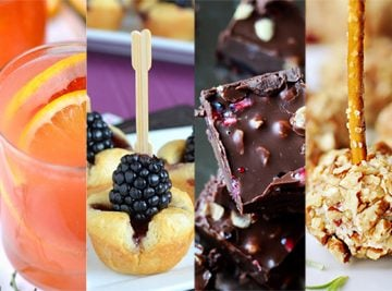 50+ Recipes for a Rockin' New Year's Eve {Cocktails, Mocktails, Appetizers, & Sweets}