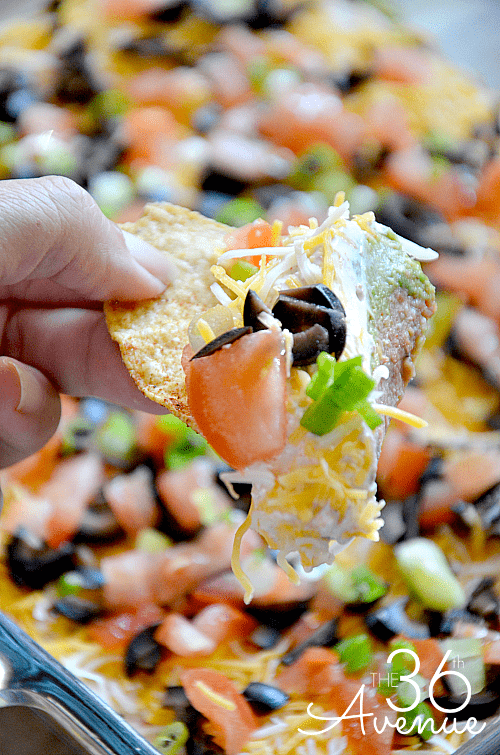 7-Layer Bean Dip Supreme