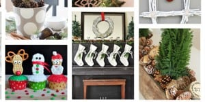 100 Christmas Projects for a Beautiful Holiday Home ~ DIY, crafts, recipes, and more! | FiveHeartHome.com