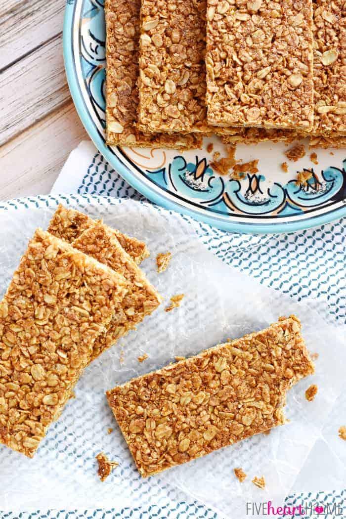 Oats and honey granola bar