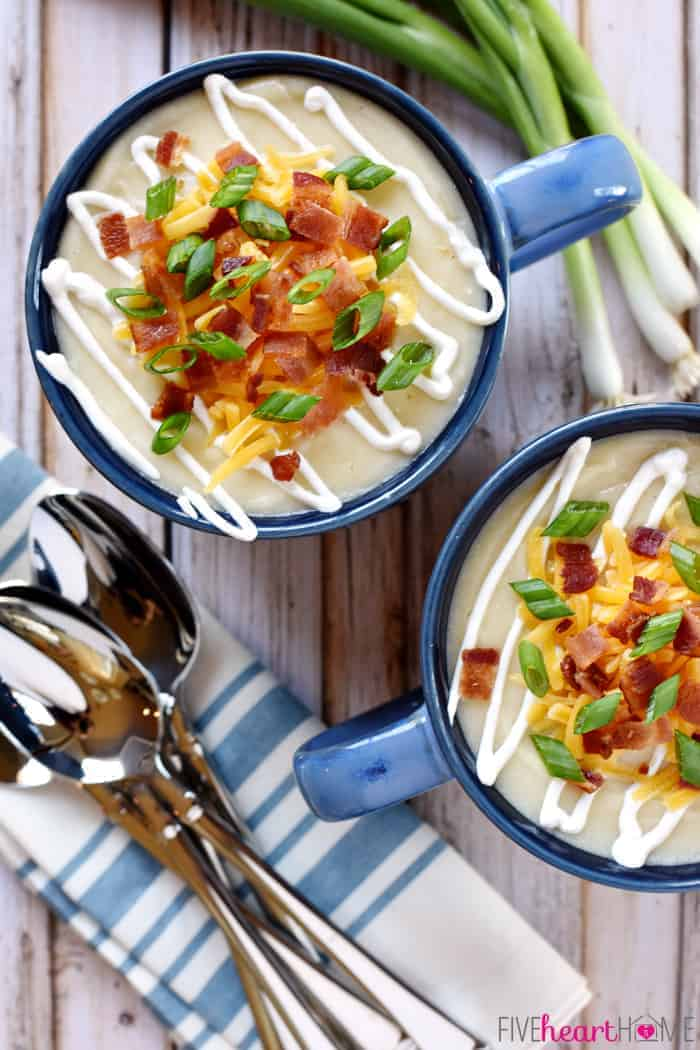 ... my baked potato recipe baked potato soup with leek bacon potato soup