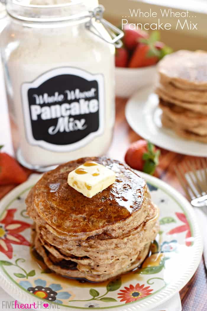 Whole wheat pancake mix homemade whole wheat pancake mix ccuart Gallery