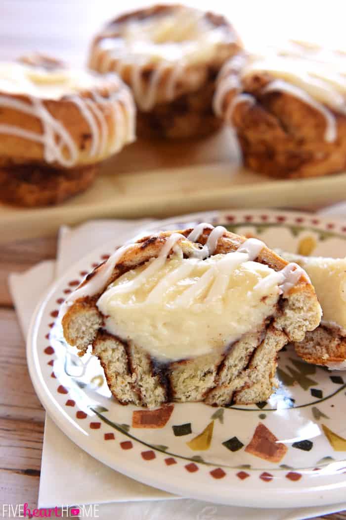 Cream Cheese Cinnamon Rolls Recipe — Dishmaps