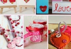 Moonlight & Mason Jars Link Party {#92} ~ Creative Valentine's Day Projects | FiveHeartHome.com
