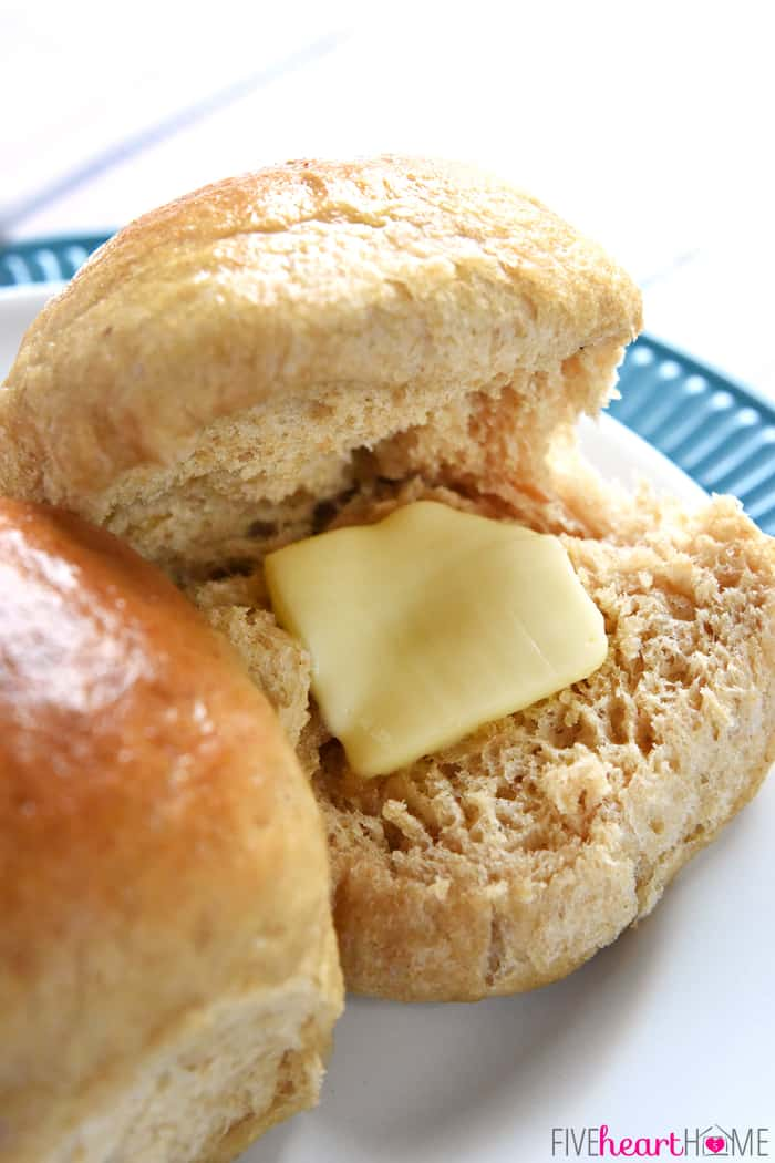 ... Whole Wheat Bread recipe, these 100% whole wheat dinner rolls are soft