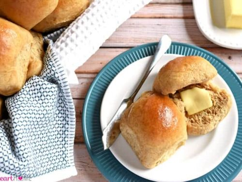 The Very Best Homemade Whole Wheat Dinner Rolls Fivehearthome