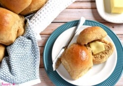 The Very Best Homemade Whole Wheat Dinner Rolls