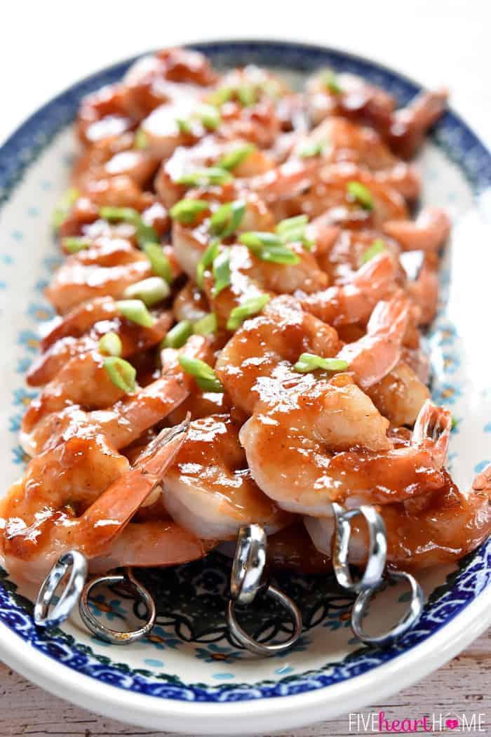 Honey-Ginger Shrimp Skewers with Asian Quinoa {PLUS Food ...