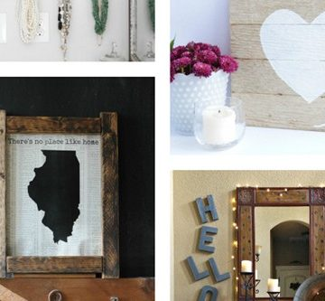 DIY Wall Decor ~ M&MJ Link Party {#94}