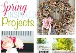 Moonlight & Mason Jars Link Party {#95} ~ Spring Inspired Projects | FiveHeartHome.com