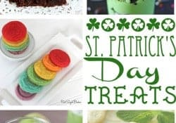 Moonlight & Mason Jars Link Party {#96} ~ St. Patrick's Day Treats | FiveHeartHome.com