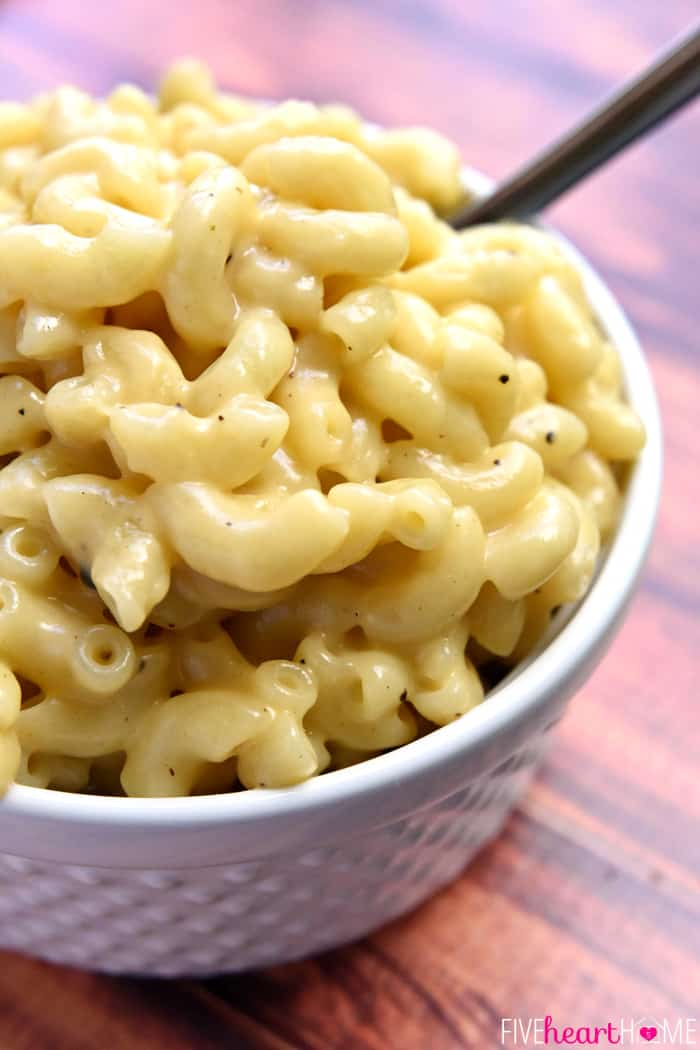 One Pot Mac and Cheese in bowl