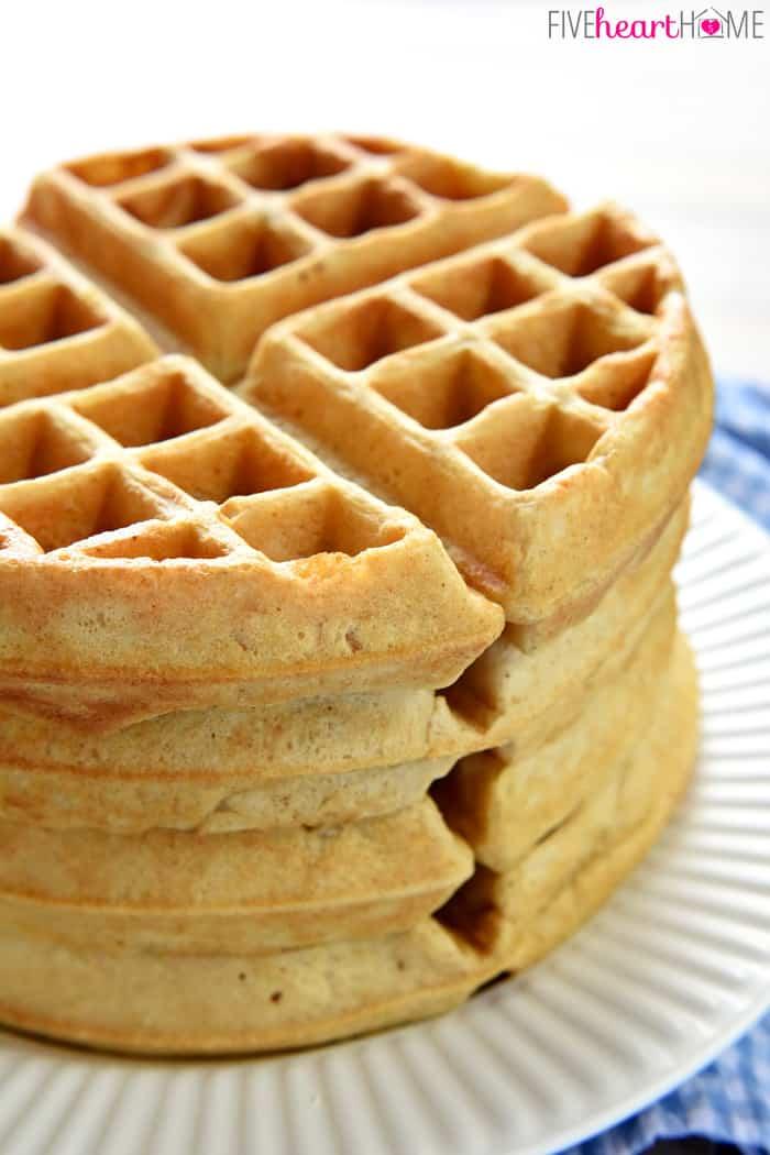 Homemade-Whole-Wheat-Waffle-Mix-Whole-Wheat-Waffles-by-Five-Heart-Home ...