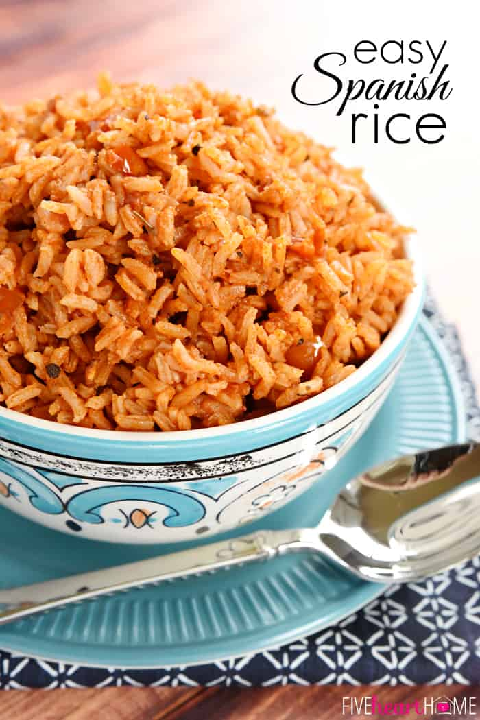The Best Easy Spanish Rice Quick Foolproof Fivehearthome