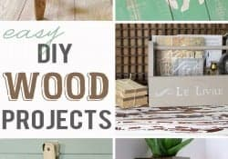 Easy DIY Wood Projects ~ {M&MJ Link Party #107}