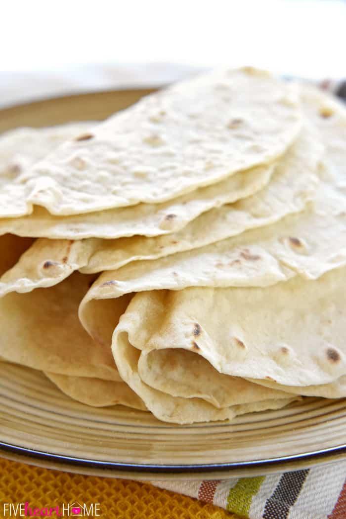 how to make soft flour tortillas from scratch