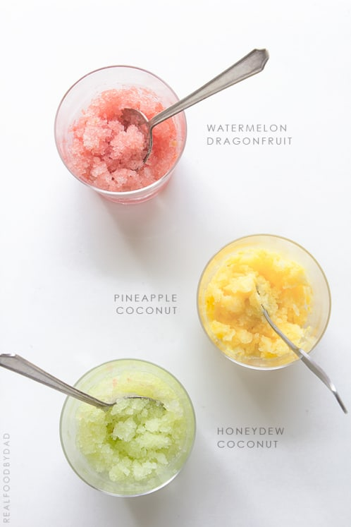 Fruity Granitas | Real Food by Dad
