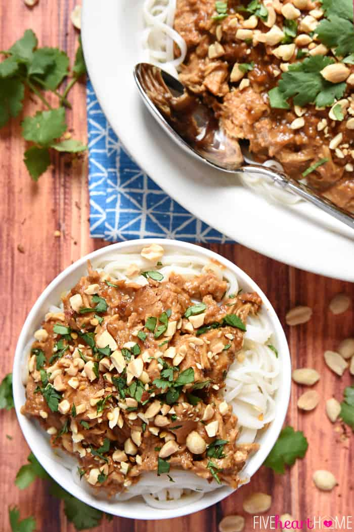 Thai Peanut Sauce Chicken