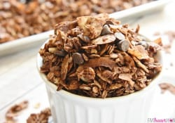 Chocolate Coconut Almond Granola ~ AKA, Almond Joy Granola