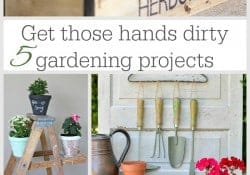 DIY Gardening Projects {M&MJ Link Party #109}