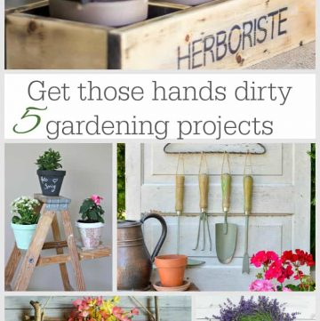 DIY Gardening Projects | Moonlight & Mason Jars Link Party