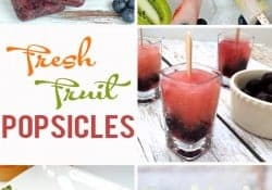 Fresh Fruit Popsicles {M&MJ Link Party #112}