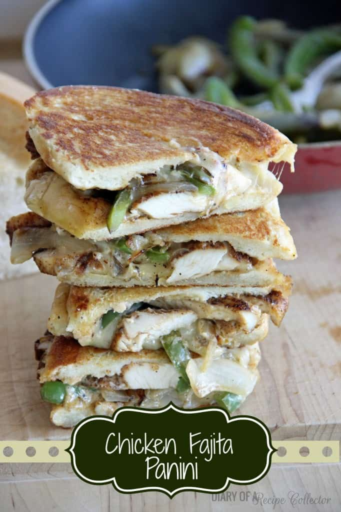 Chicken Fajita Paninis