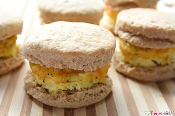 Easy Freezer Breakfast Sandwiches