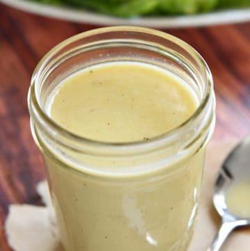 Lightened-Up Honey Mustard Dressing